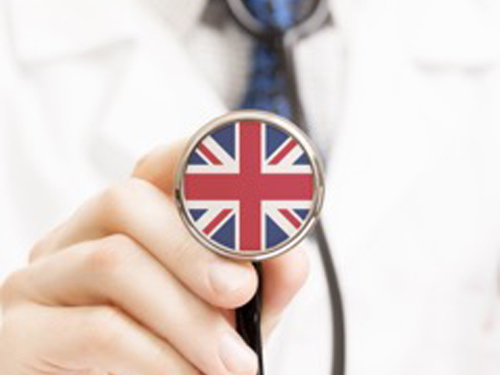 Medical service of foreign students in the UK
